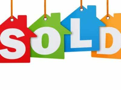 control ro sell - house sold sign