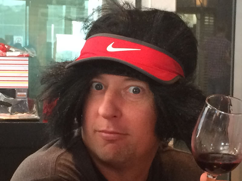 funny wig picture
