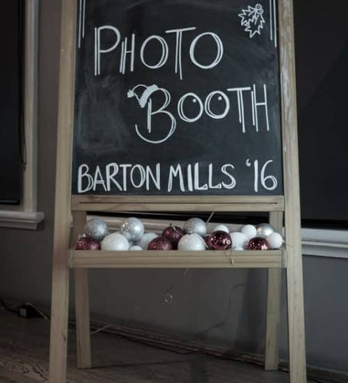 Photo Booth Barton Mills '16